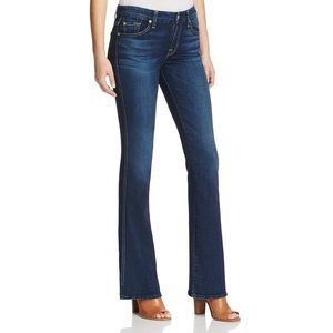 7 for All Mankind A Pocket Mid-Rise Flare Jeans